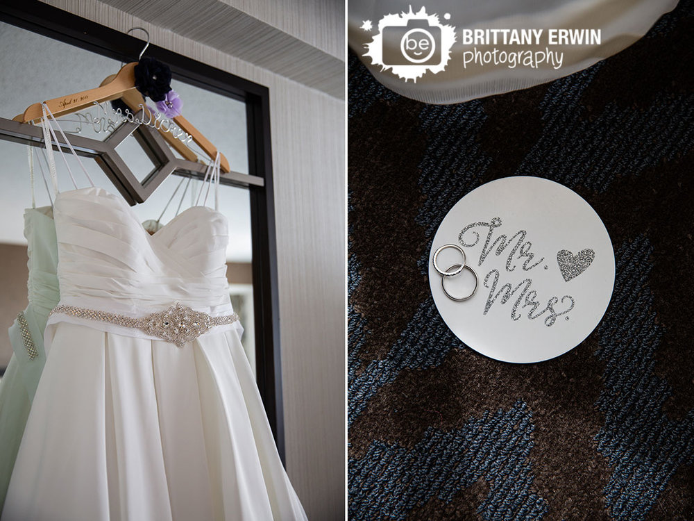 Indianapolis-downtown-wedding-photographer-custom-mrs-mr-coaster-hanger-dated-dress-gown.jpg
