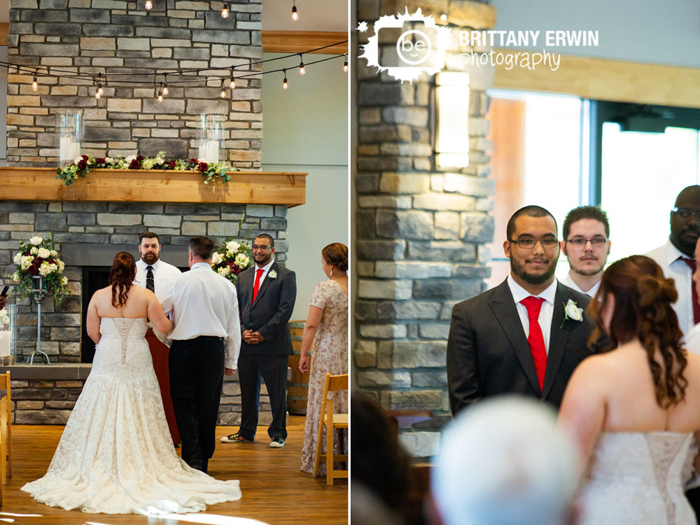 Wedding-photographer-indoor-ceremony-sycamore-at-mallow-run-groom-reaction-bride-walking-down-aisle.jpg