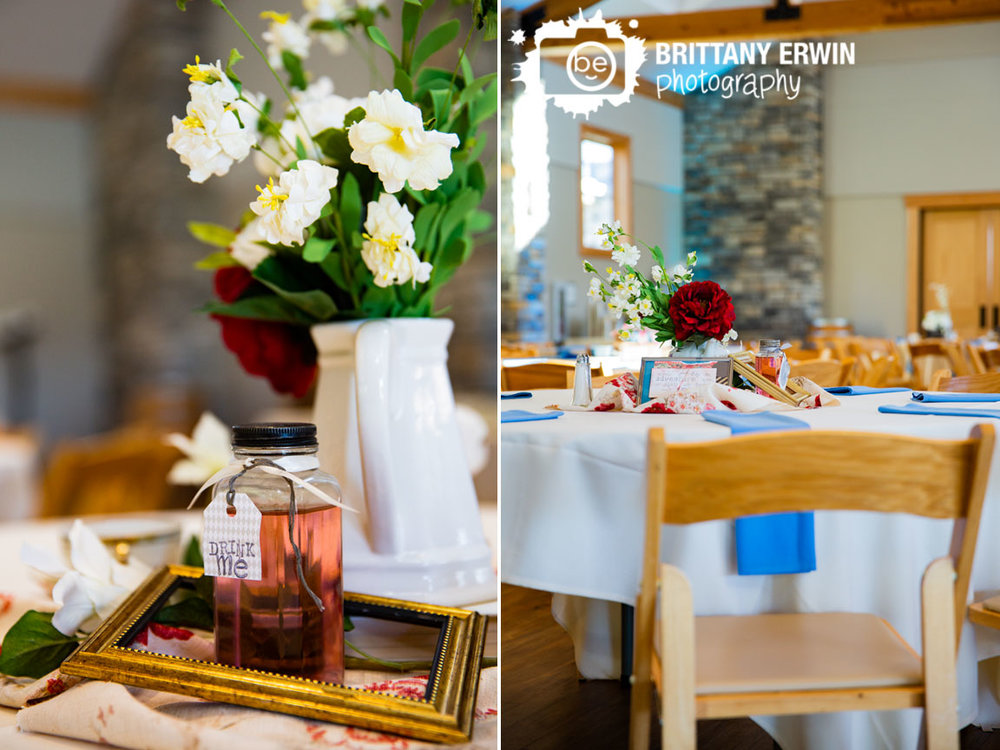 Alice-in-Wonderland-themed-wedding-disney-photographer-drink-me-centerpiece-blue-napkin-uplighting.jpg