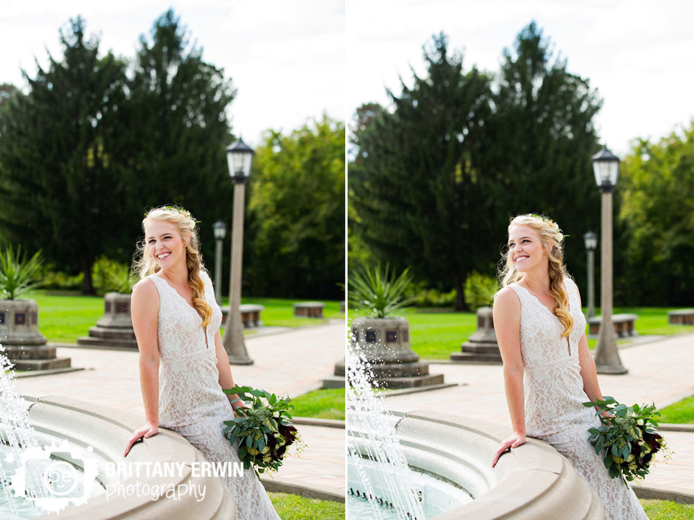 Bridal-portrait-bride-leaning-on-fountain-garfield-park-conservatory.jpg