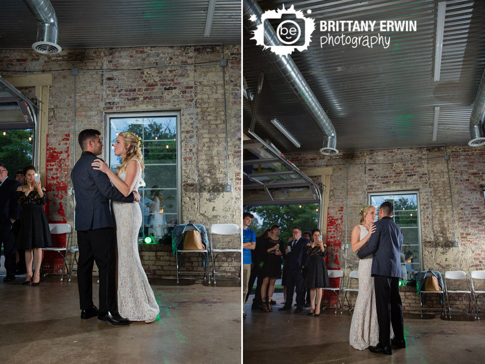 Tube-Factory-Art-Space-wedding-reception-venue-photographer-first-dance-couple-brick-wall.jpg