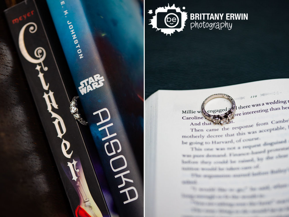 Engagement-portrait-photographer-books-ring-between-outline-engaged-on-page.jpg