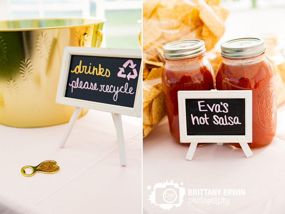 recycle-please-sign-wedding-reception-salsa-appetizer-cocktail-hour.jpg