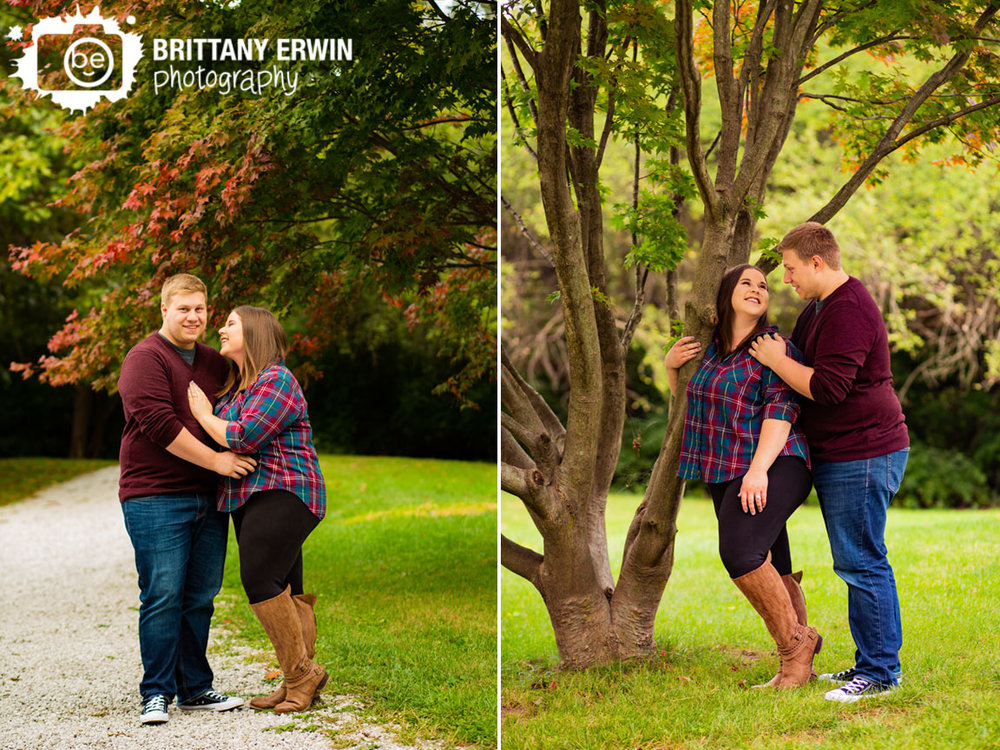 Camby-Indiana-engagement-portrait-photographer-fall-leaves-red-japanese-maple-tree-couple-laugh.jpg