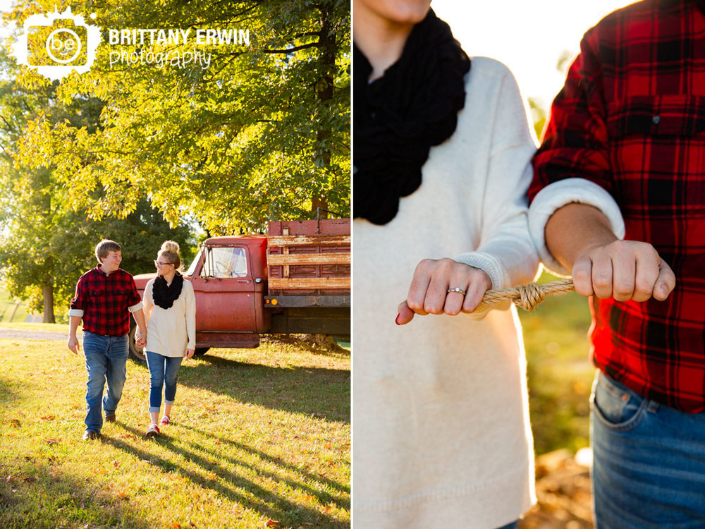 engaged-couple-walking-from-classic-truck-tie-the-knot-rope-ring.jpg