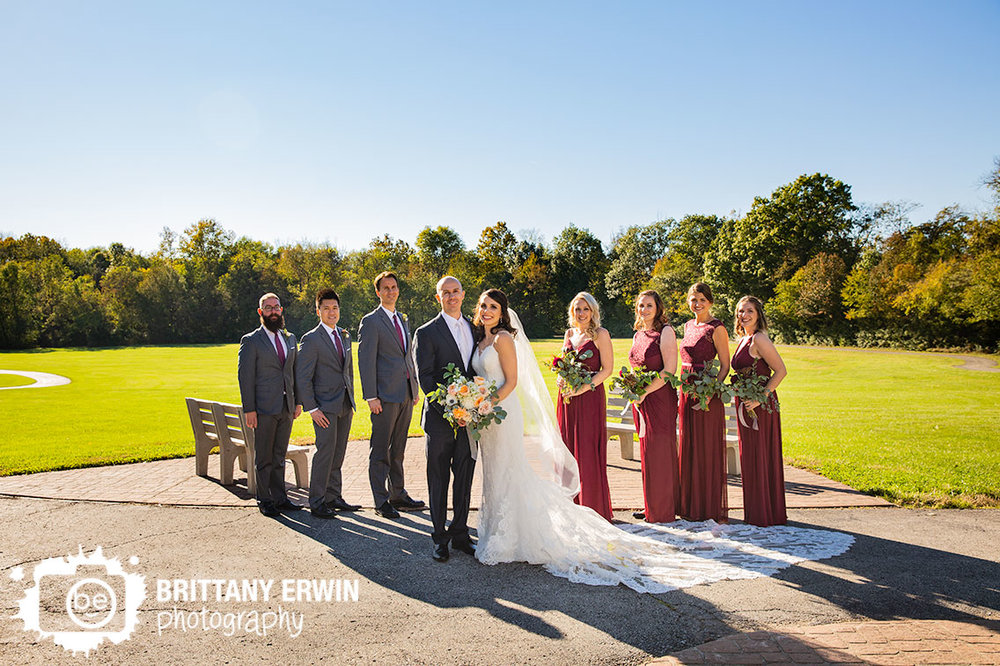 bridal-party-portrait-bride-groom-bridesmaids-groomsmen-field-Historic-Ambassador-House.jpg