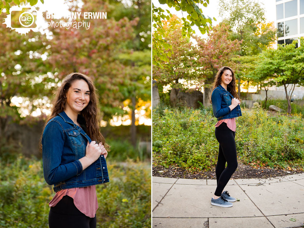 Downtown-fall-senior-portrait-photographer-jean-jacket-sunset-eiteljorg-museum.jpg