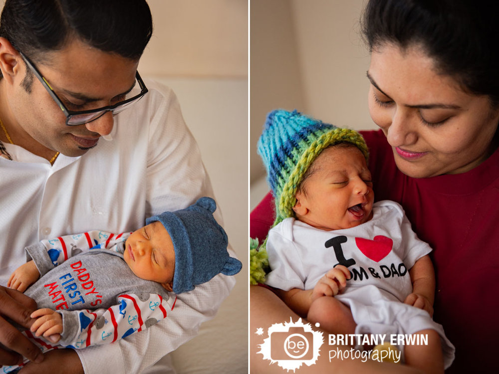 Indianapolis-newborn-portrait-photographer-lifestyle-session-in-home-baby-boy-sleeping-with-mother-father.jpg