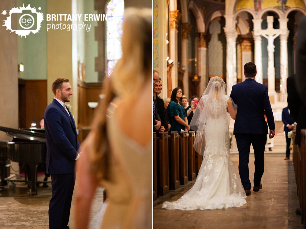 groom-reaction-as-bride-walks-down-the-aisle-with-father-St-joan-of-arc.jpg