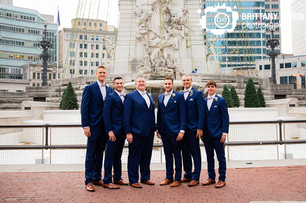 Downtown-Indianapolis-groomsmen-portrait-group-at-monument-circle.jpg