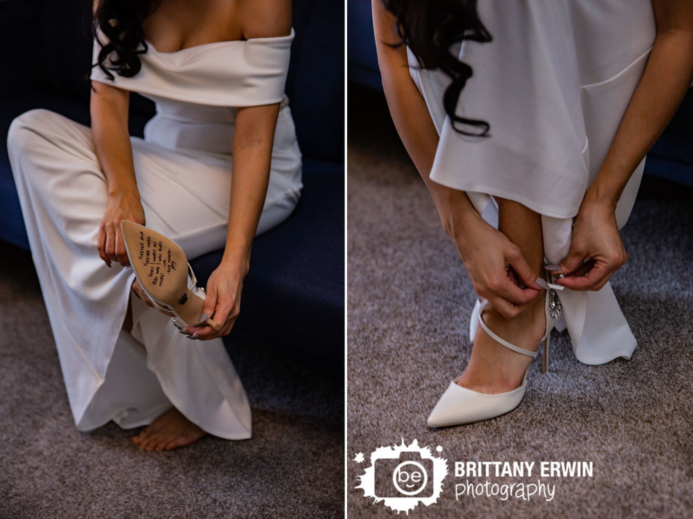 Indianapolis-elopement-photographer-note-on-shoe-bottom-bride-putting-on-shoes.jpg