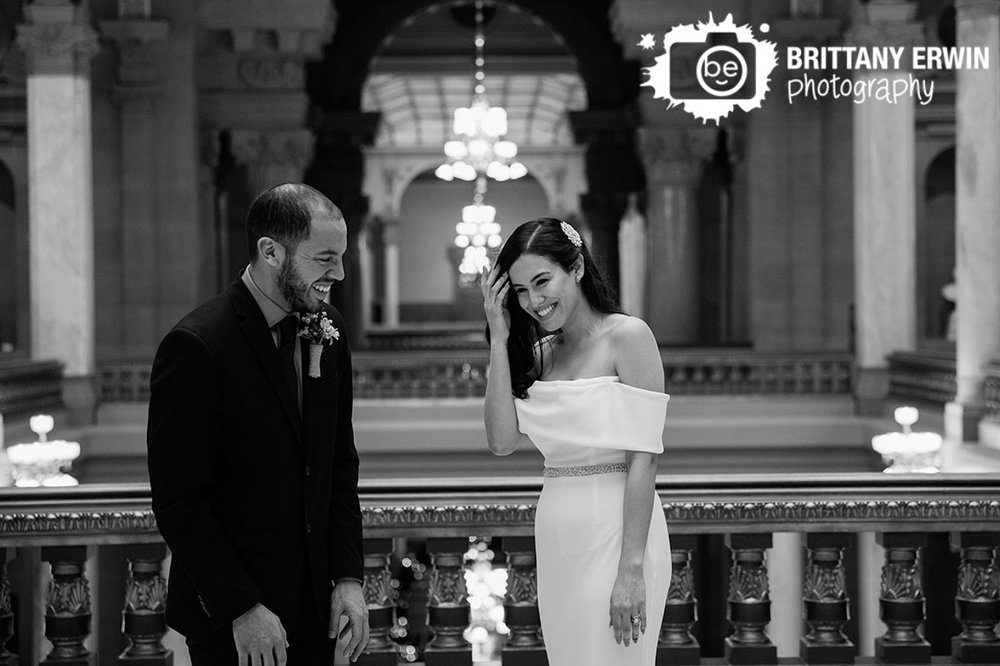 Indiana-State-House-Elopement-couple-after-ceremony-upstairs.jpg