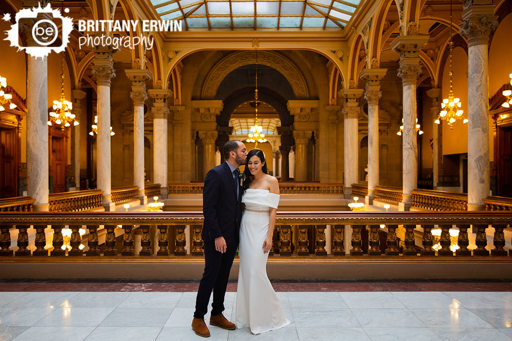 Indianapolis-Elopement-photographer-forehead-temple-kiss-on-balcony.jpg
