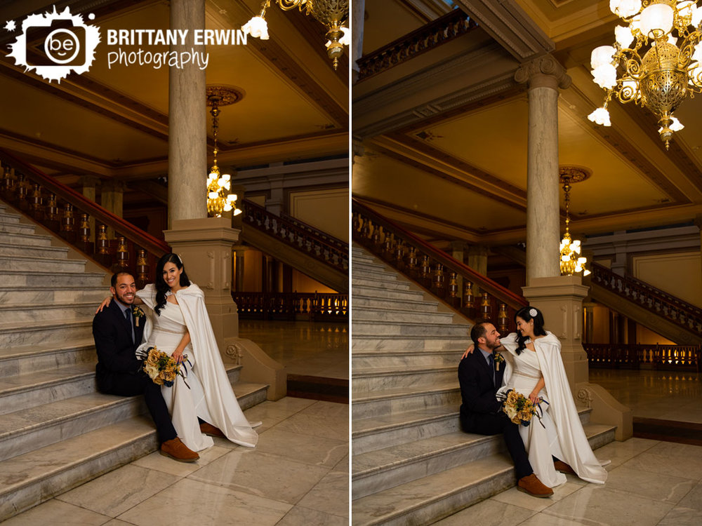 Indiana-State-House-couple-on-steps-marble-floors-chandeliers-elopement.jpg