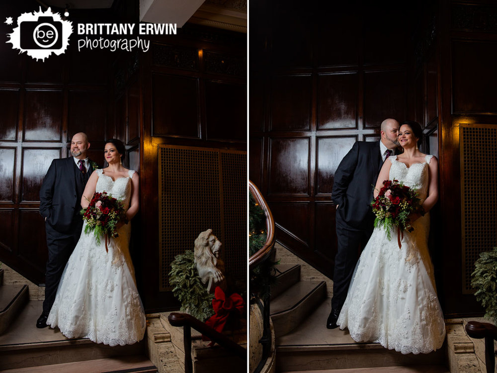 Indianapolis-wedding-photographer-bride-groom-on-stairs-mahogany-staircase.jpg