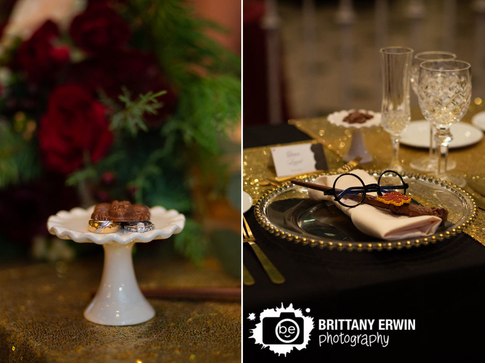 harry-potter-head-table-set-up-chocolate-frog-on-wedding-bands-rings-place-setting.jpg