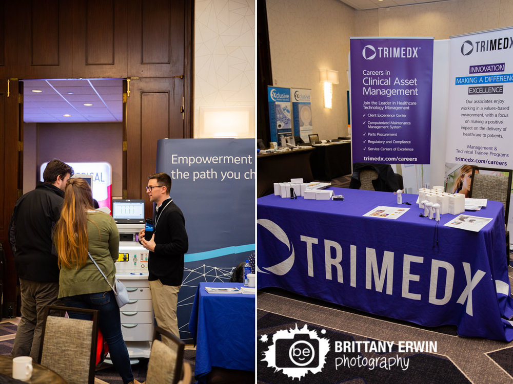 Indianapolis-event-photographer-attendee-at-booth-talking-Indiana-Biomedical-Society.jpg