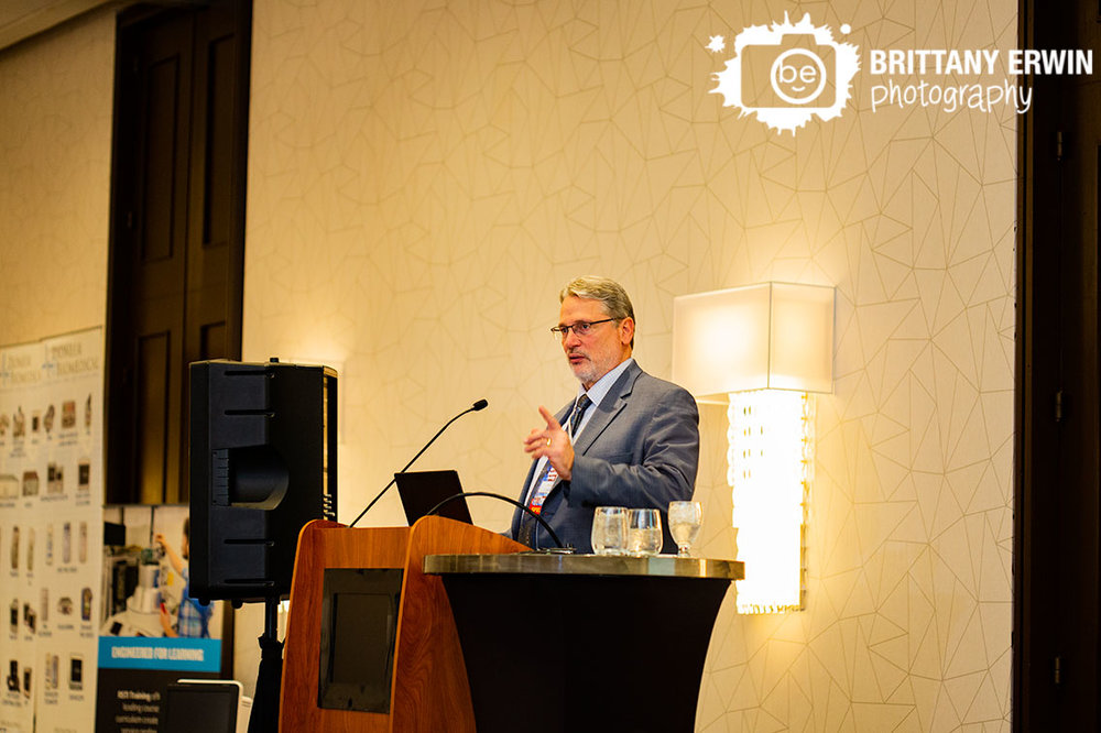 Indianapolis-Indiana-Biomedical-society-event-photographer-keynote-speaker-introduced-at-conference.jpg