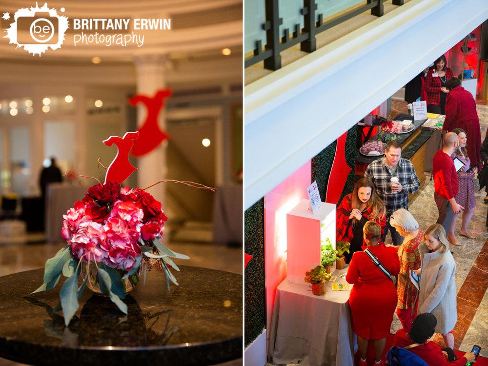 Indianapolis-event-photographer-floral-centerpiece-red-dress-women-event-palladium.jpg