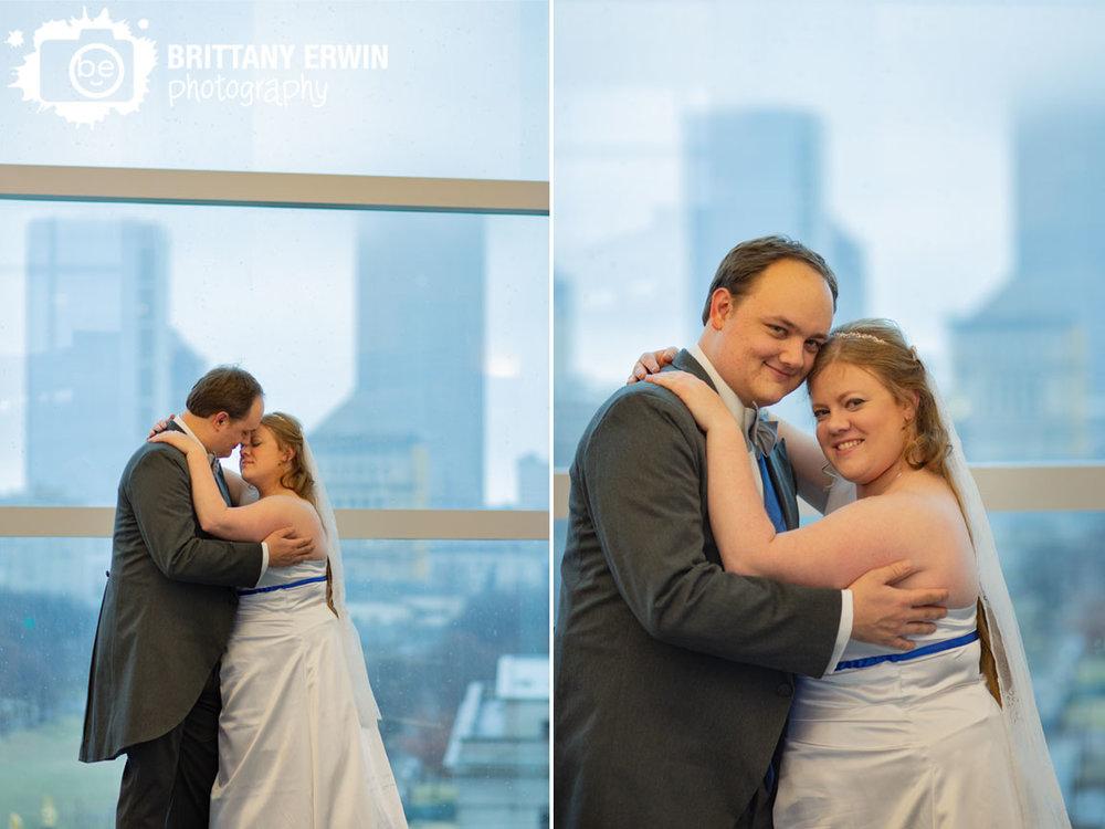 Indianapolis-central-library-wedding-photographer-rainy-day-skyline-window.jpg