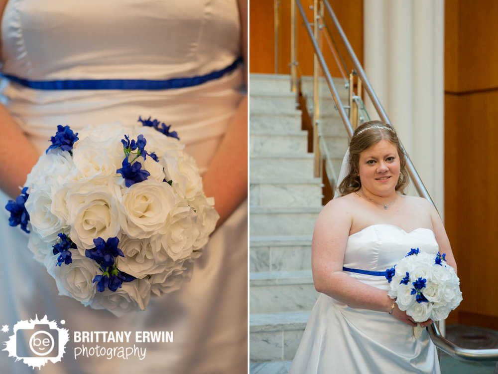 Indianapolis-wedding-photographer-bride-at-marble-steps-with-white-blue-boquet.jpg