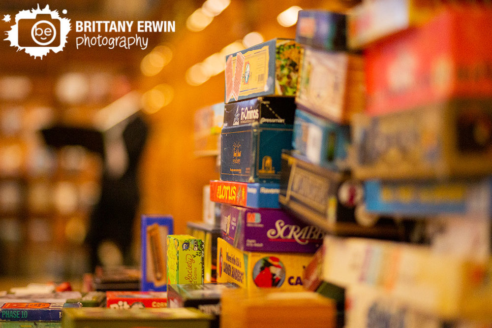 Indianapolis-wedding-photographer-central-library-board-game-selection-reception-table.jpg