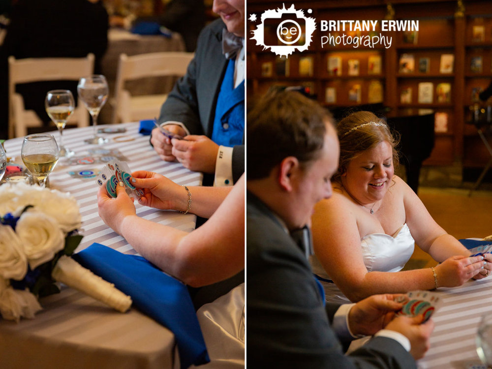 Indianapolis-central-library-wedding-photographer-reception-first-game-cards-sweetheart-table.jpg