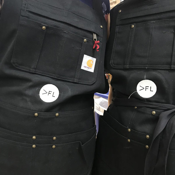 And get excited, these aprons have pockets!