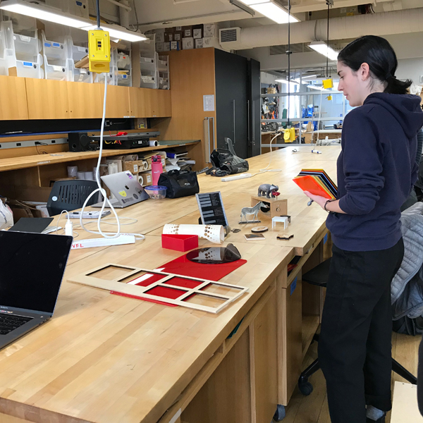 For the rest of the week and beginning of next week, staff members will be demonstrating how to use the Vinyl, 3D, and UV printers, CNC machines, Wire Bender, Laser cutters, and Embroidery machine.  Sign up today!