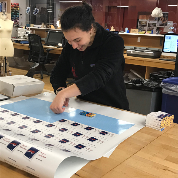 MFA Products of Design  student Hannah Rudin is using the VFL to make America a better, more friendly place.