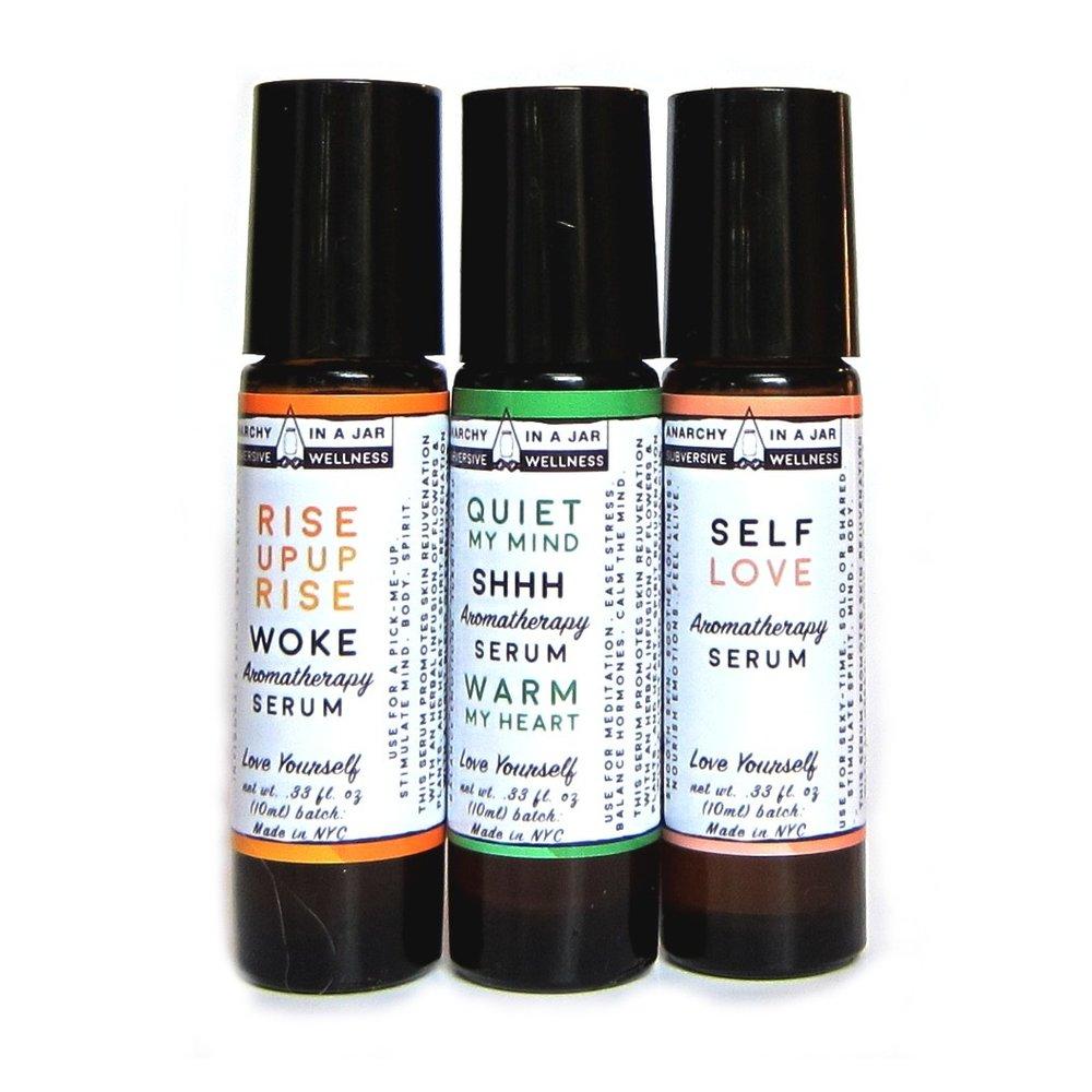 Perfume + Healing Oil = - nourishing, aromatherapy awesomeness.