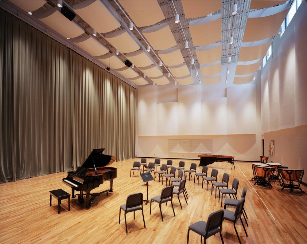 Blair School of Music Orchestra Reheasal Hall