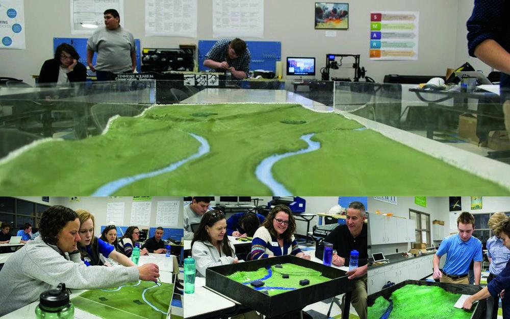 Tennessee Aquarium- Environmental Learning Lab