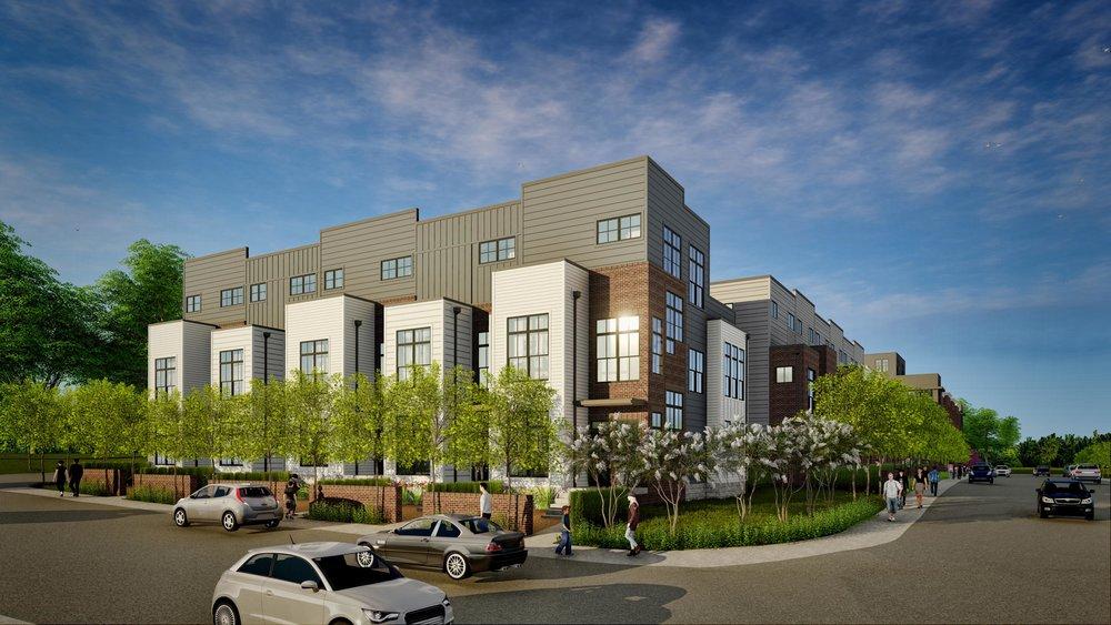 East Trinity Lane 3 Buildings 16 Townhomes