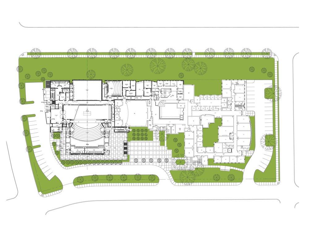 Vanderbilt University Blair School of Music Site Planning & Construction Phasing Plan