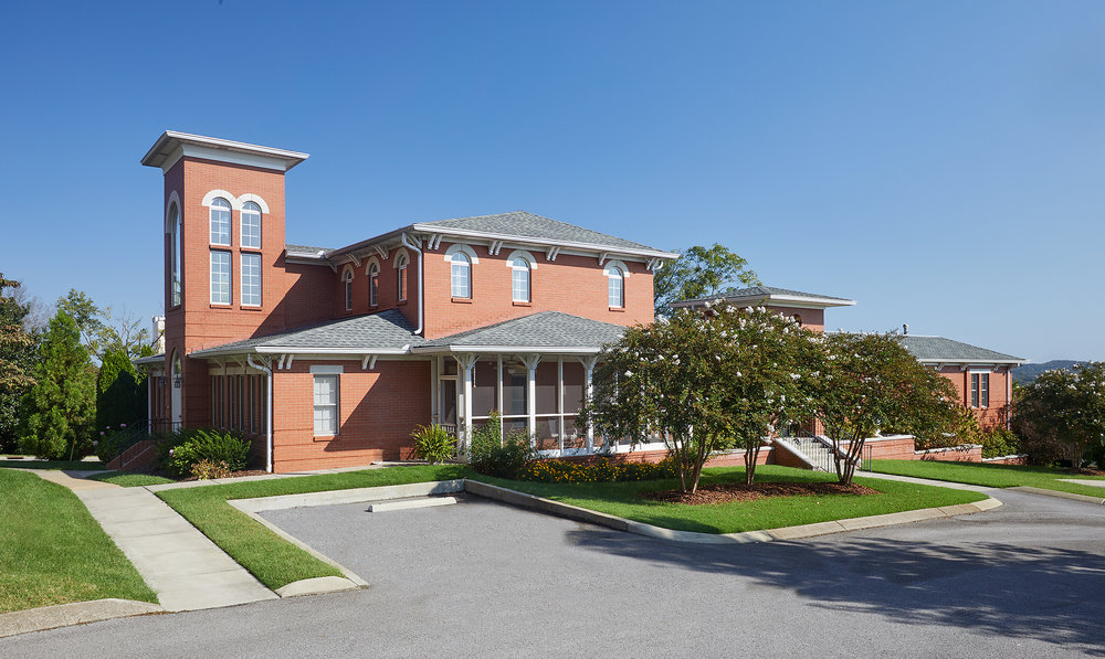 St. Cecilia Mater Dei Priests House Renovation- 8 Apartments, Chapel, Kitchen, Dining, Community Room, Screened Porches