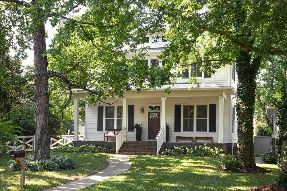 Sylvan Park Neighborhood Custom Single Family Residence
