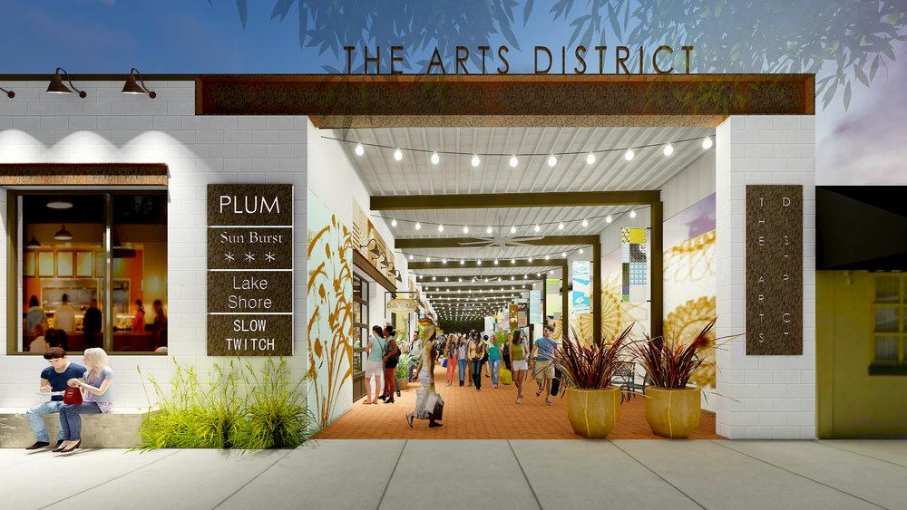 Art Walk- The Arts District Building