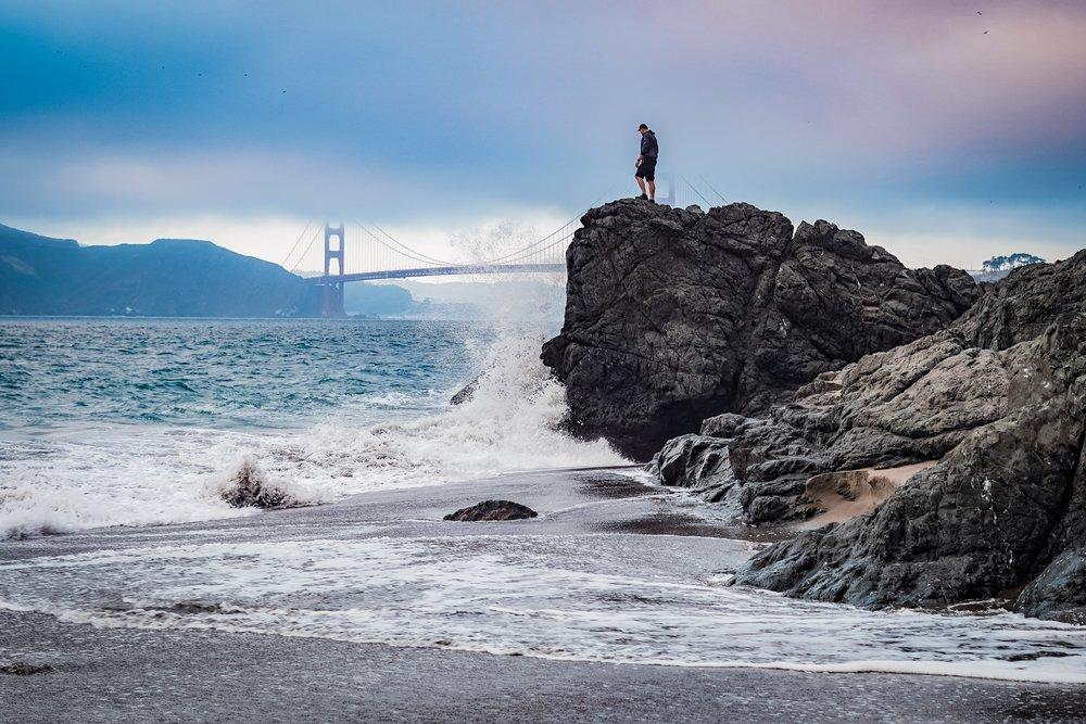 China Beach- San Fransisco California- The Chaos Collective