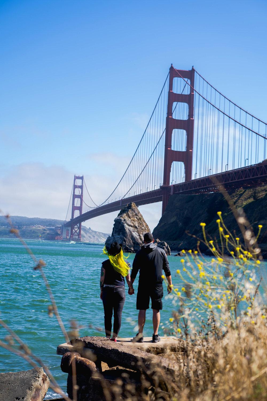 Golden Gate Bridge- San Fransisco California- The Chaos Collective
