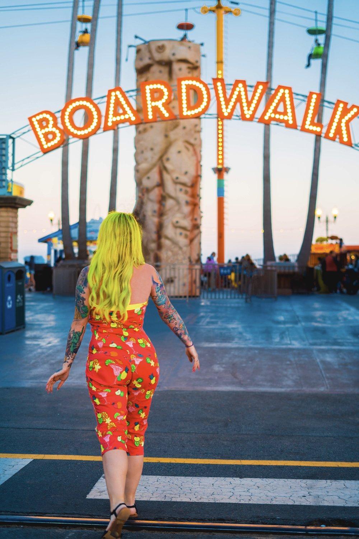 Santa Cruz Boardwalk- Santa Cruz California-The Chaos Collective