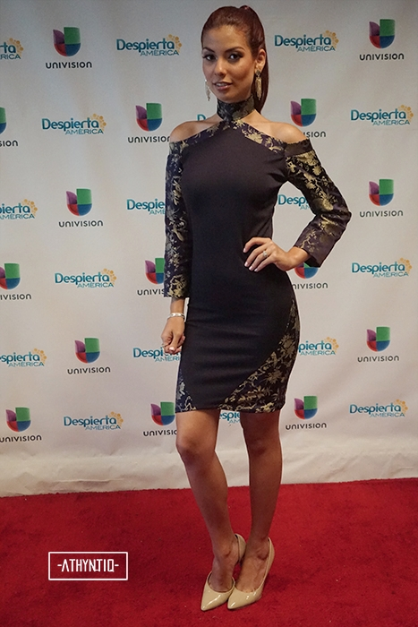 ATHYNTIQ Fashion Show on Univision