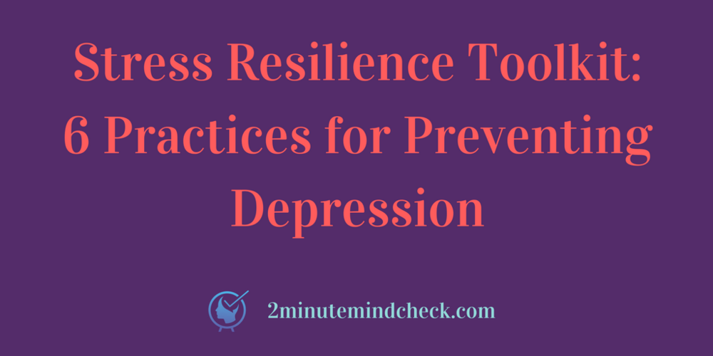 Check out the Stress Resilience Tookit
