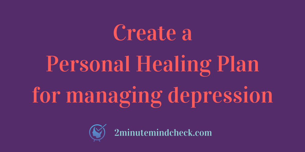 Learn How to Create a Personal Healing Plan