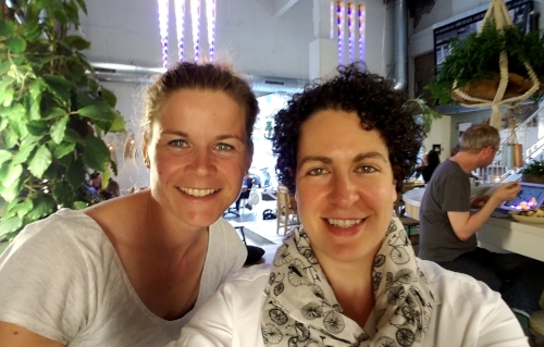 Meeting with Inge of CycleSpace