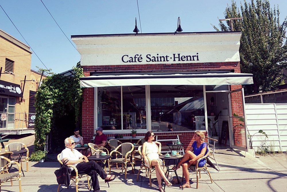 C  afé Saint-Henri     Address: 260 Place du Marché du Nord, Montréal