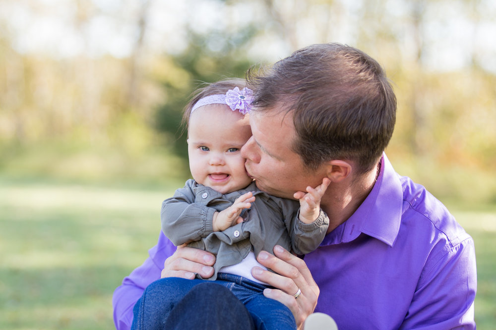 Andrew with daughter Evalynn