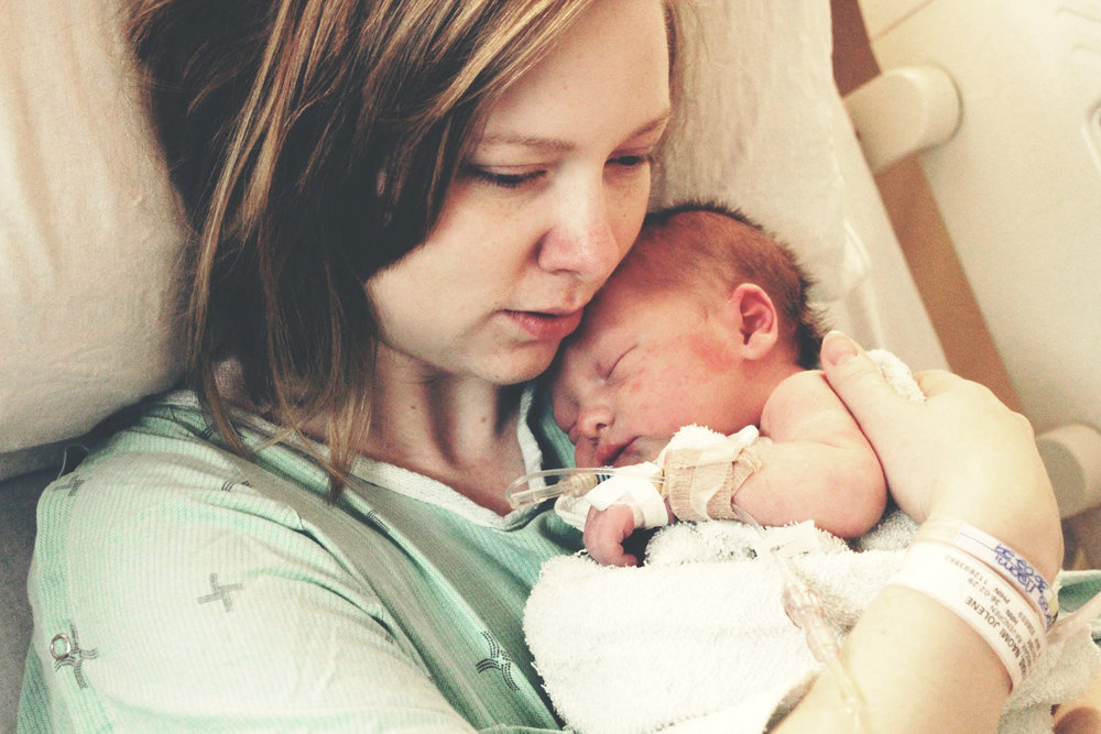 Naomi and her son, Davie