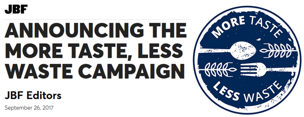 JBF More Taste Less Waste Launch & logo.png