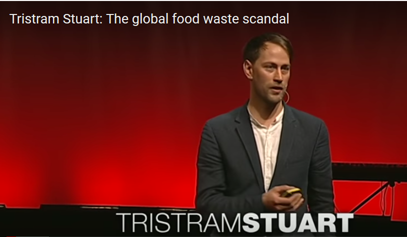 Photo: Tristam Stuart presenting at TED Conference in London, 2012